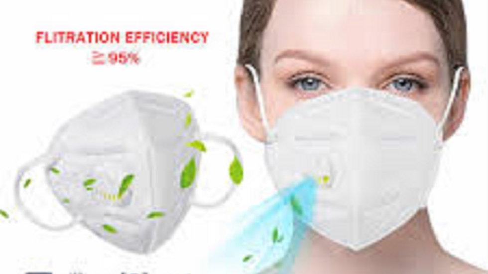 KN95 Mask N95 Mask Valve Mask Respirator $1.35 EA