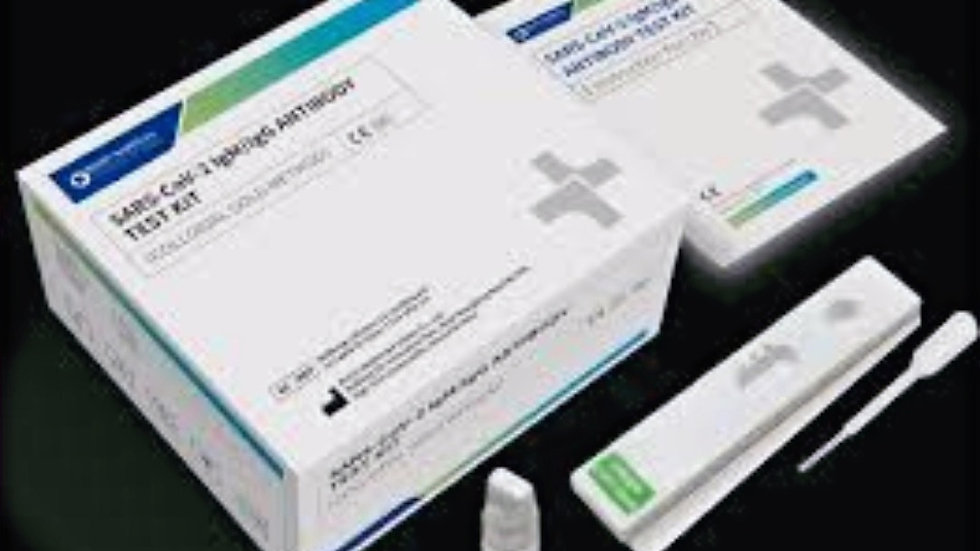 SARS-CoV-2 IgM/IgG Antibody Test Kit (Colloidal Gold) $8.00 EA