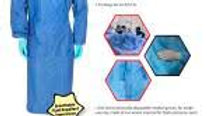Disposable Gown (40 Gsm SMS Fabric) $3.50 Ea