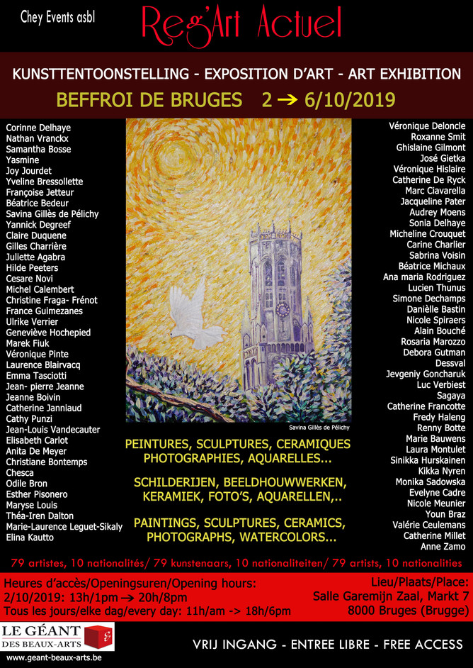 Exposition Art Internationale Brugges Belgique