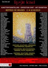 Exposition Art Internationale Brugges Belgique