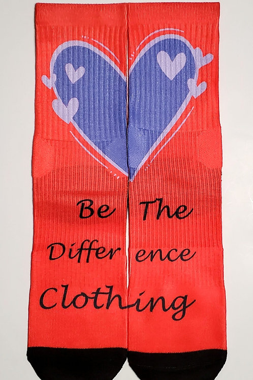 Be The Difference Clothing Socks