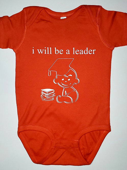 The Baby Leader Onesie