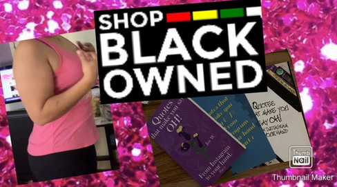 @Be the Difference Clothing UNBOXING Shop Black owned businesses.#vlogmas weight loss sneak peak.