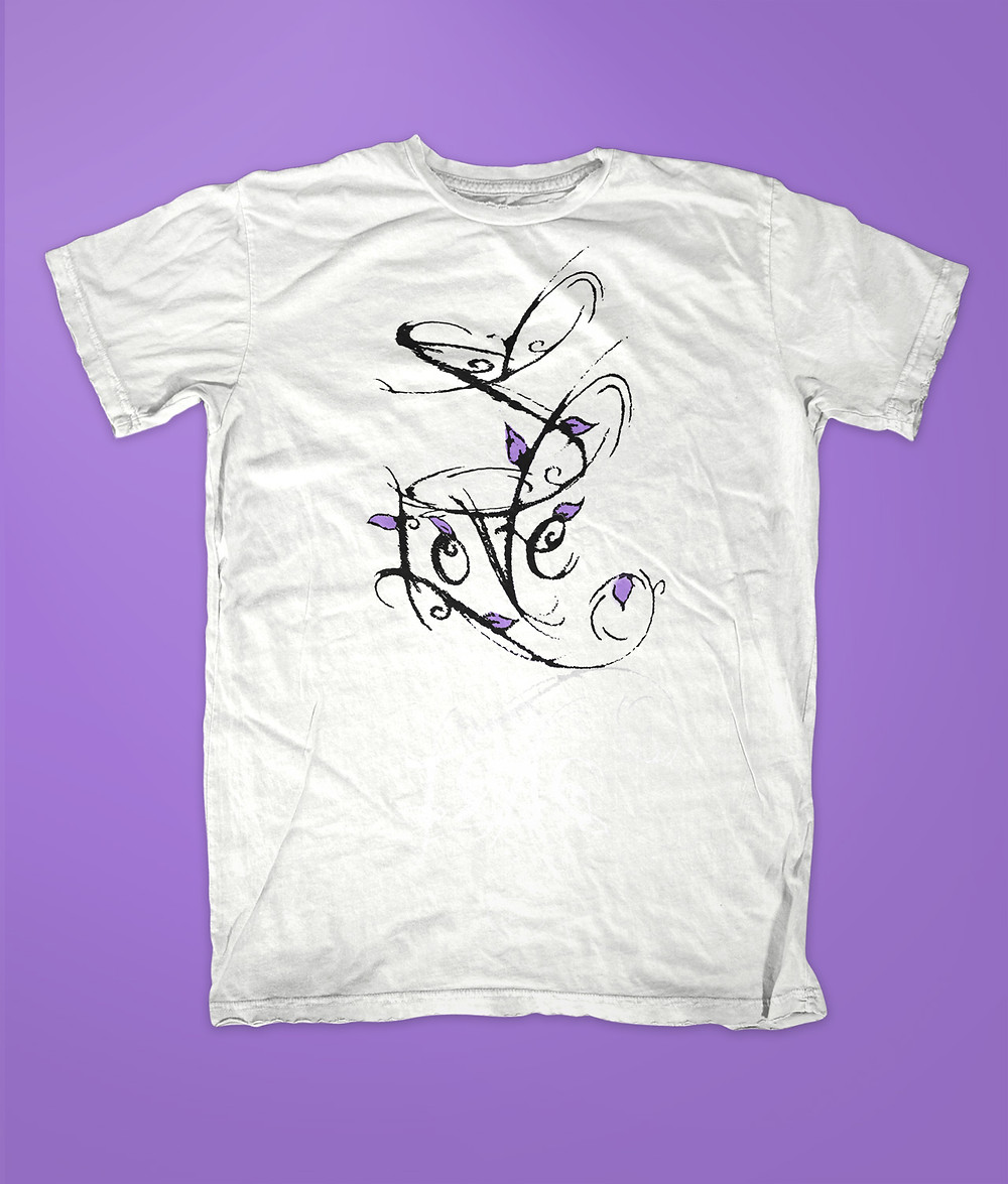 Forever Love J t-shirt or oneise