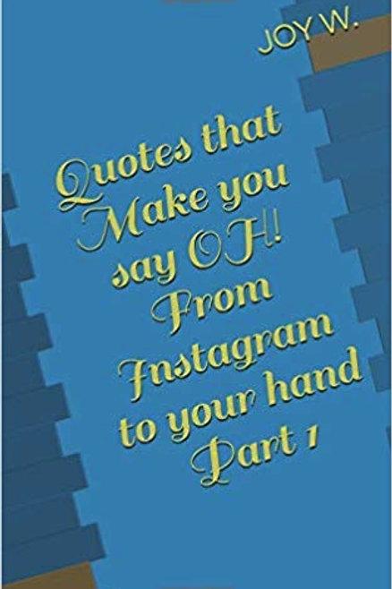 Quotes That Make You Say OH From Instagram to your Hand Part 1