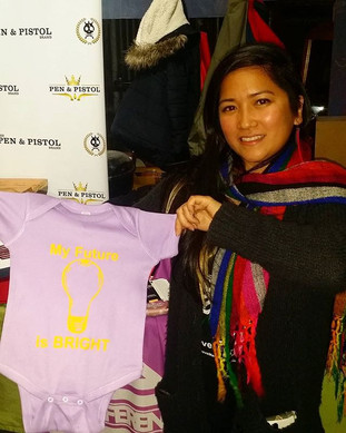 NUDA designs believes in raising a child with positivity.