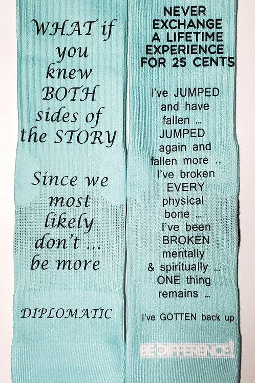 Quotes Part 2 Socks