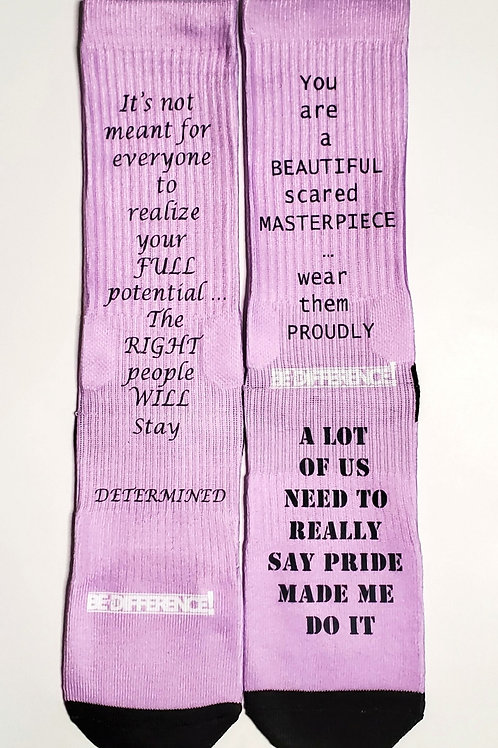 Quotes Part 2 Socks New