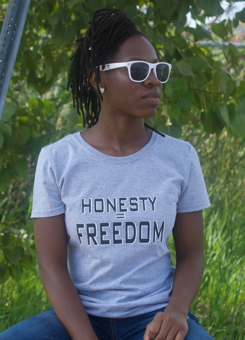 honesty t-shirt