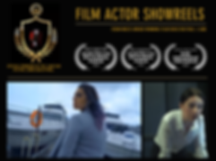 film actors academy showreel scenes