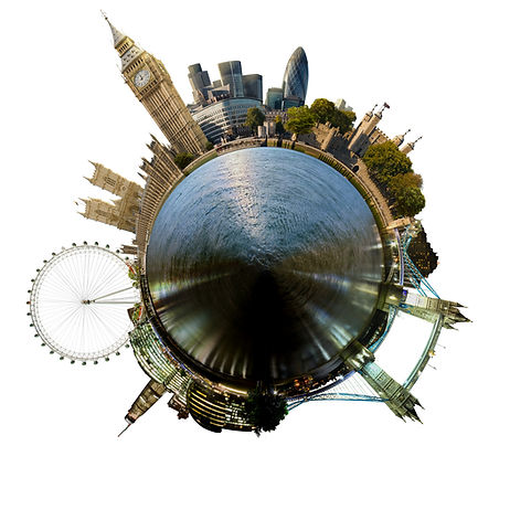 Planet London - Miniature planet of Lond