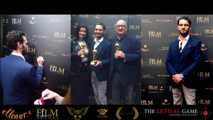Film Actors Club Distinction Award Winning Members gather at the private screening of The Lethal Gam