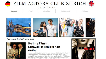 Film Actors Club Expand To Zurich!