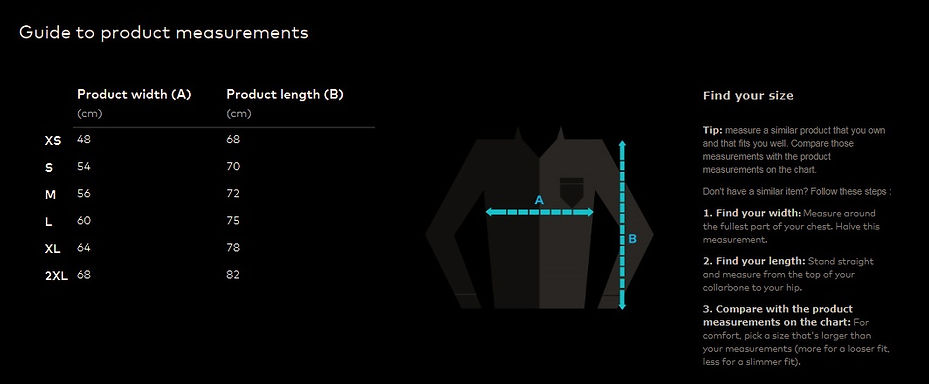 FACTA Clothing Range