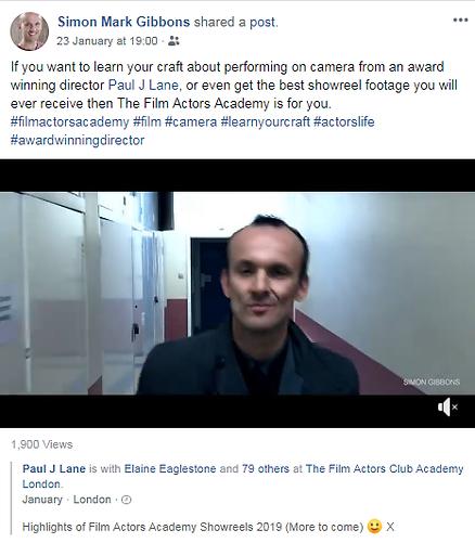 the film actors academy