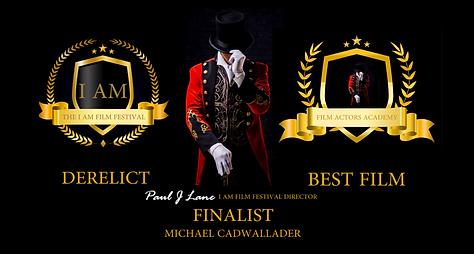 Best Film Finalist Michael Cadwallader D