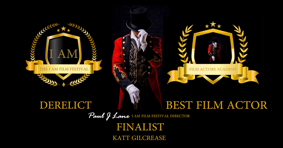 Best Film Actor Finalist Katt Gilcrease