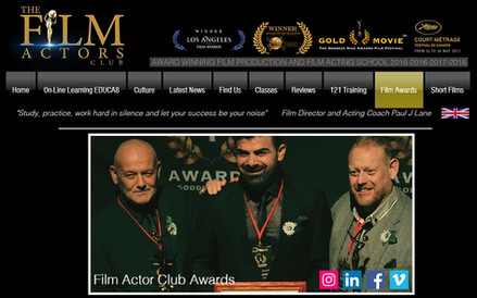 Take a look at our increasing tally of Film Making Awards @ The Film Actors Club
