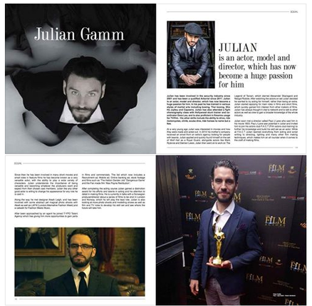 Club member Julian Gamm in Equal Magazine!