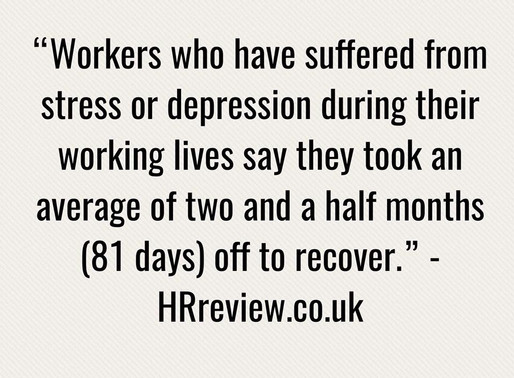 The sick cost of workplace stress