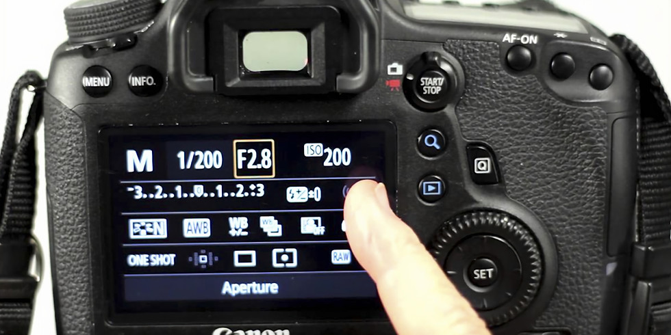 Photography: ISO, Shutter Speed, and Aperture