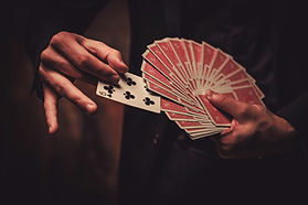 Join John as he teaches the art of magic through cards! Learn how to perform tricks to wow your audience. Great for beginners! Cost $40. Limit 8 people!