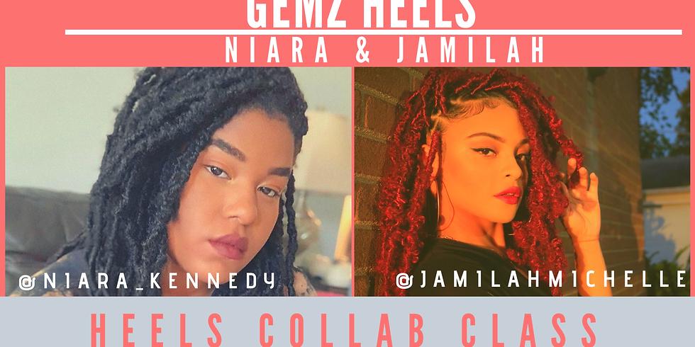 Jamilah & Niara Heels Collab Class (Thursday)