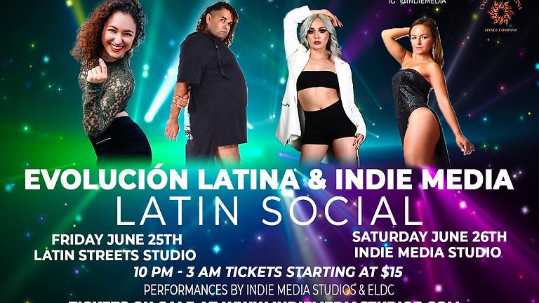 Latin Social @ Latin Streets Studio (Friday)