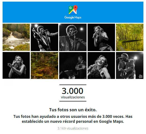 3.000 Visualizaciones en Google Maps!!!