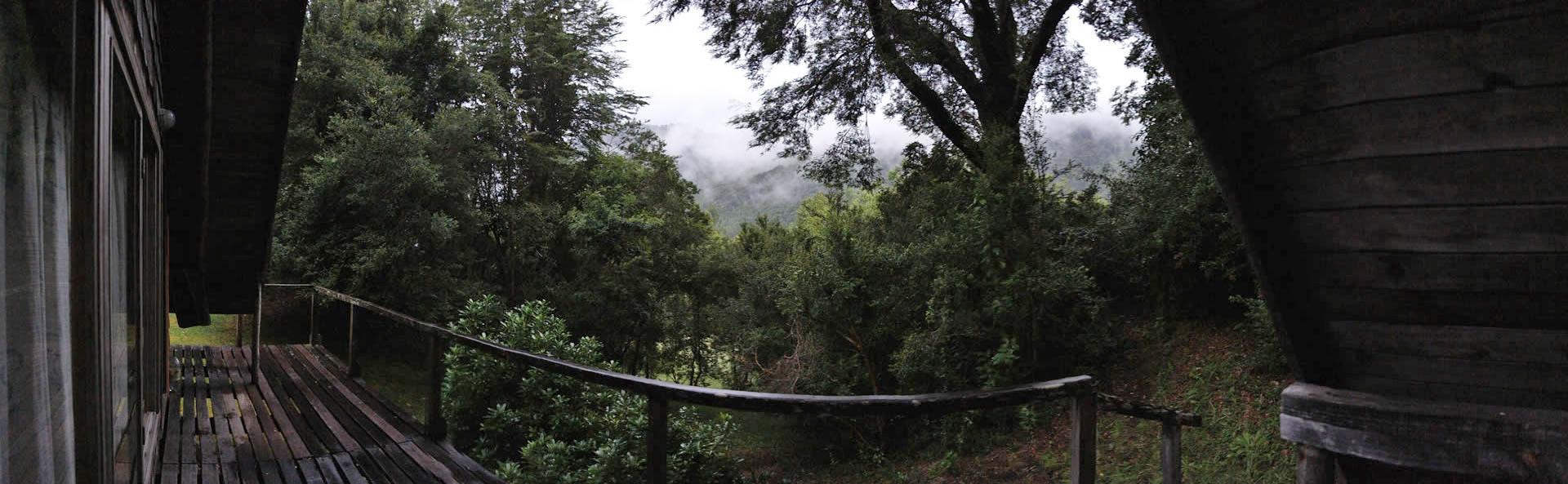Panoramica desde la Cabaña 2