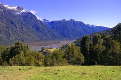 Vista del Rio Petrohué