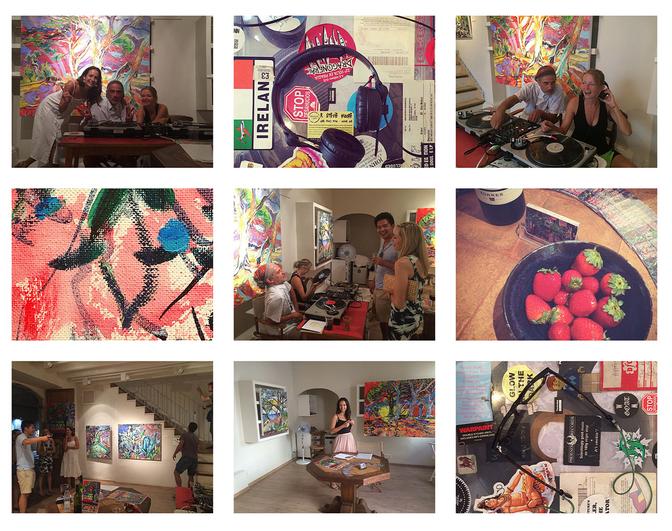 H.M.A Pop-Up Gallery in Deia /                           Via Archiduc Lluis Salvador 28 /         PH