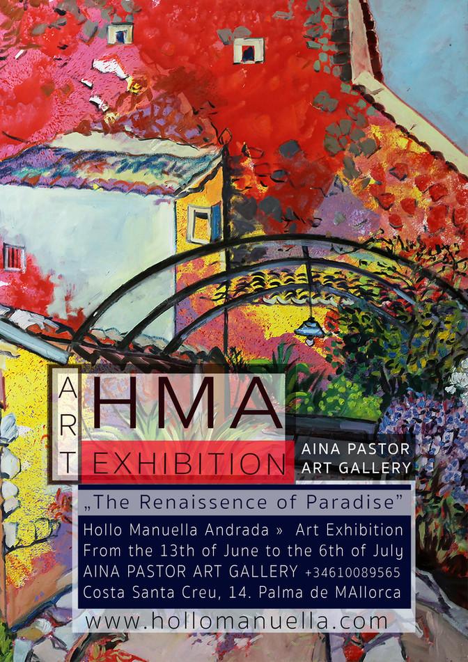 H.M.A Art Exhibition at Aina Pastor Gallery Palma de Mallorca
