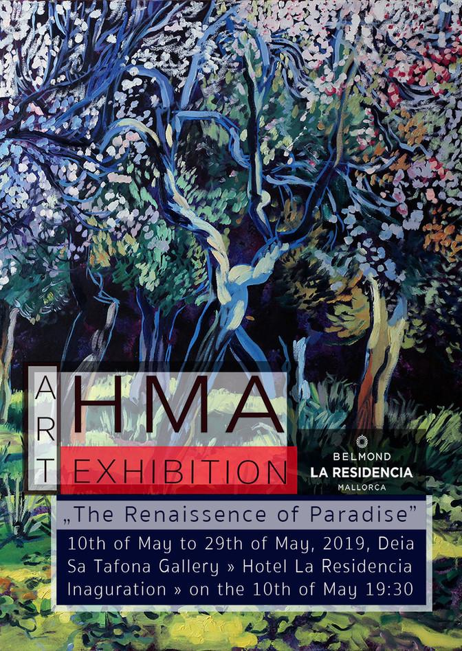 H.M.A Solo Exhibition at La Residencia » Inaguration: Sa Tafona Gallery 10th of May 7:30pm
