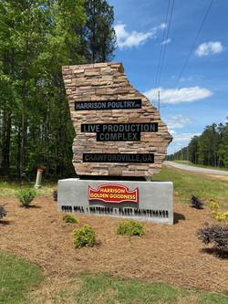 Crawfordville Sign