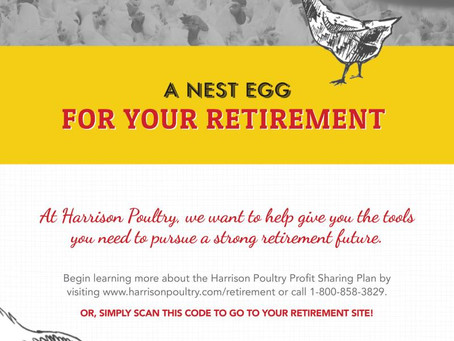 Harrison Poultry Wins PSCA Retirement Award for Overcoming Obstacles