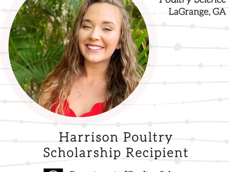 Harrison Poultry Scholarship – UGA Poultry Science Department