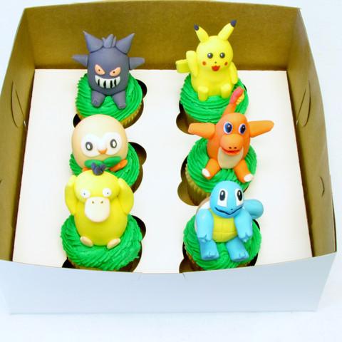Pokeman Cupcakes