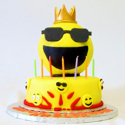 Emoji Princess Cake