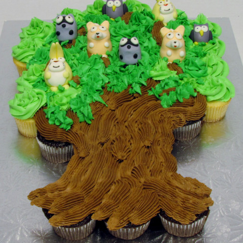 Woodland Wonderland Cupcake Tree