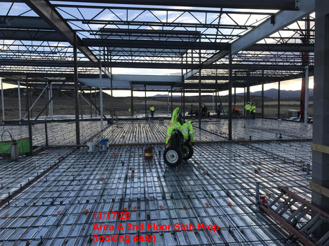 Area A 2nd Floor Slab Prep 11.17.20