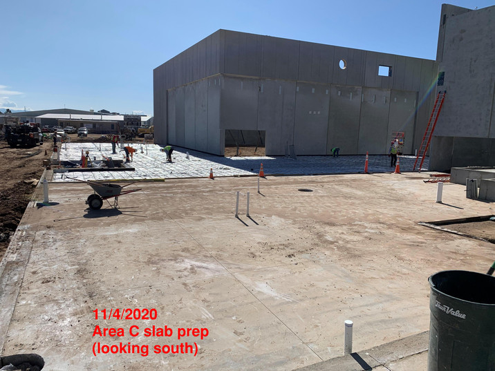 Area C Slab Prep (11.4.2020)