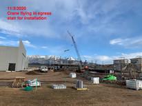Egress Stair Installation (11.3.2020)