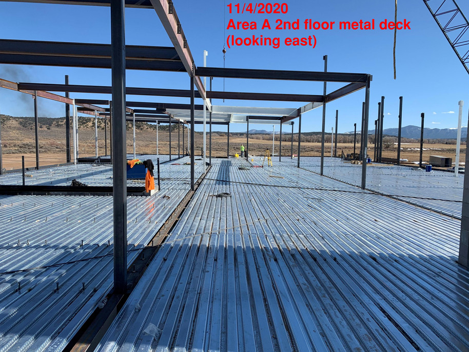 Area A 2nd Floor Metal Deck (11.4.2020)
