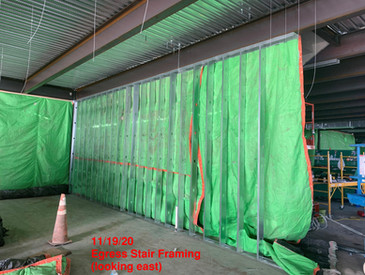 Egress Stair Framing 11.19.20