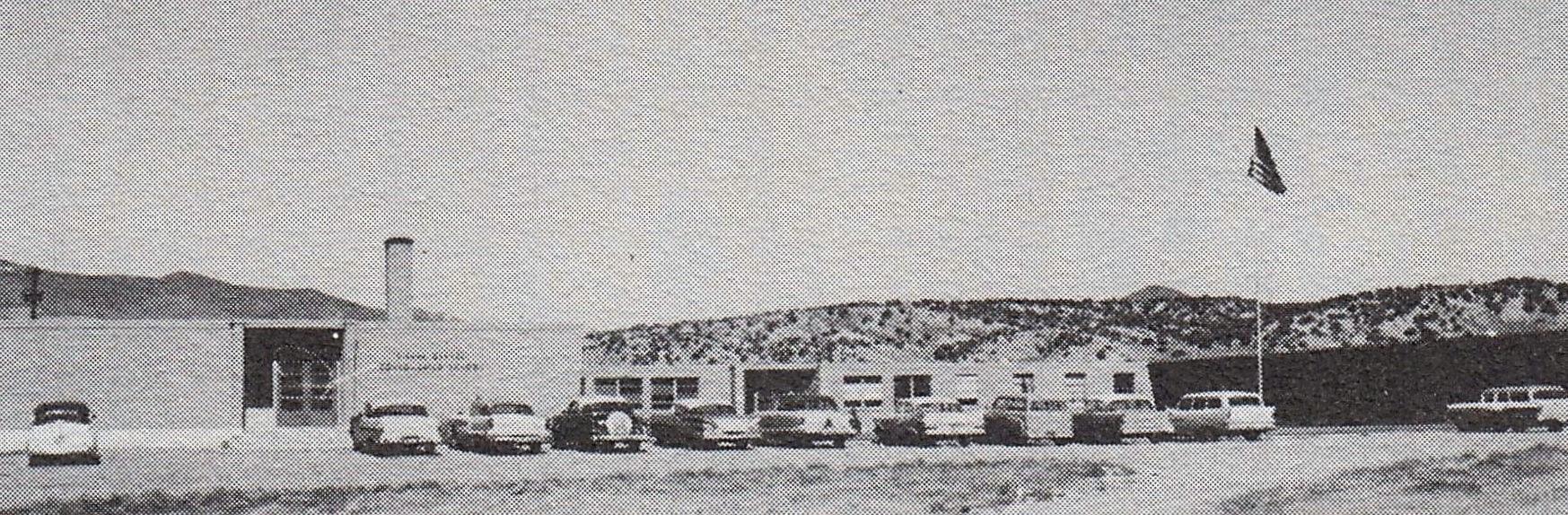 Old School Building 1950s