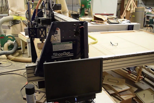 13 ShopBot CNC (Large)  CNC Machine (12x8) Software Included