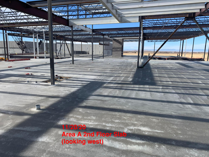 Area A 2nd Floor Slab 11.20.20
