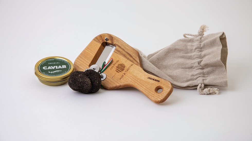 Truffle & caviar gift box
